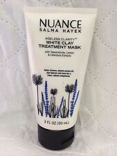 NUANCE SALMA HAYEK AGELESS CLARITY WHITE CLAY TREATMENT MASK W/ TEPEZCOHUITE