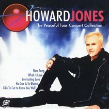 HOWARD JONES THE PEACEFUL TOUR CONCERT COLLECTION IMPORT CD