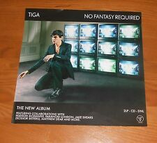 Tiga Sontag No Fantasy Required Poster Original Promo 12x12 RARE