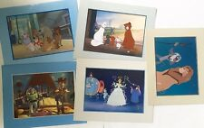 Disney Lithograph Lot Vintage Lion King Cinderella Aristocrats Oliver Toy Story