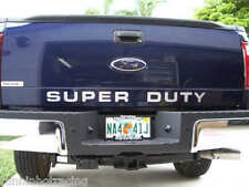 2008 - 2014 Super Duty Tailgate Insert Decal F-250 F-350 F-450 Stickers CHROME