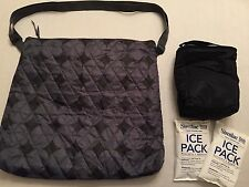 NEW Similac? Enfamil? diaper/tote bag + Insulated Cooler + 2 Ice Packs, NWOT