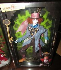 Alice in Wonderland Mad Hatter Barbie Doll Johnny Depp Mattel BNIB