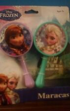 Disney Frozen Maracas  Elsa and Anna  New in Package age 3+