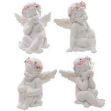 SET OF 4 CUTE CHERUBS - FIGURINE - ORNAMENT - GIFT IDEA - COLLECTION - ANGELS