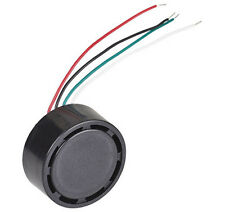 Electro Mechanical Indicator Buzzer, Multi Tone, Flying Leads, 12VDC ABI-046-RC