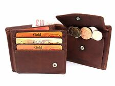 MENS SUPER SOFT TAN GENUINE LEATHER CREDIT CARD HOLDER WALLET BY LONDON LEATHER