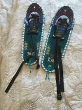 "TUBBS SNOWSHOES 25"" x 8"" Hiking Backcountry Travel SNOW Shoes ✻❅ ❆"