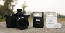 Flash flashq Q20 con control de radio para Nikon, Canon Olympus Negro Negro versión