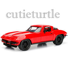 Jada Fast and Furious 8 Chevrolet Corvette 1:24 Diecast Model Car 98298 Red
