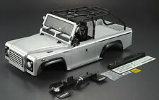 Killer Body RC Truck Body Shell 1/10 MARAUDER For SCX10 Crawler -PAINTED Silver