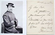 General Philip Sheridan Proninent Union General Civil War Autograph Letter Rare