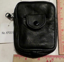 Sm Leather camera-cell phone-cigarette case coin purse Ipod holder bag protector