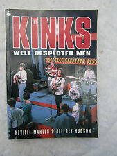 BOOK KINKS WELL RESPECTED MEN NEVILLE MARTEN JEFFERY HUDSON