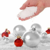 150g  MAGIC FAKE INSTANT SNOW FLUFFY SUPER ABSORBANT CHRISTMAS DECORATIONS