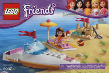 Lego Friends Olivia's Speedboat 3937 COMPLETE with Instructions Retired