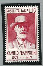 Italia Repubblica 1959 -Camillo Prampolini, nuovo e perfetto