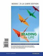 Reading for Life Books a la Carte Edition, 2nd Edition  Binder Ready FREE SHIP
