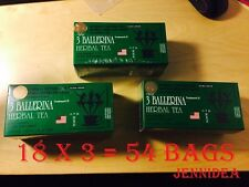 3 BOXES, 3 BALLERINA TEA DIETERS DRINK WEIGHT LOSS DIET EXTRA STRENGTH