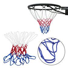 New Red White Blue Basketball Net Nylon Hoop Goal Rim Mesh Net Sports K7