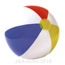"New Inflatable Blow up Panel Beach Ball 16"" 40cm Swimming Party Fun For Holiday"