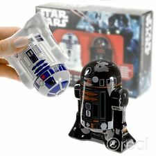 New Star Wars R2-D2 & R2-Q5 Salt & Pepper Shakers Homeware Utensil Kids Official