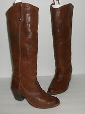 Frye JACKIE BUTTON Brown Sz 5 1/2