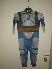 Star Wars Jango Fett Halloween Costume & Lightsaber Boys sz small 5-7 #D61