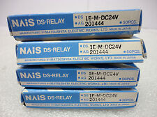 (NEW) NAIS DS Relay DS1E-M-DC24V AG201444 Box of 50