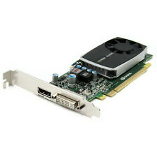 nVidia Quadro 600 1GB DDR3 PCIe x16 DVI DisplayPort Video Graphics Card Ref