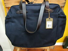 FILSON Tote Bag with Zipper Navy  New Made in USA
