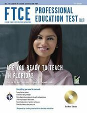 """""""VERY GOOD"""" FTCE PROFESSIONAL EDUCATION TEST 5TH EDITION (2011) NO CD"""