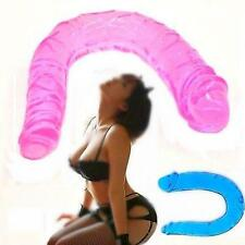 Double Dildo Jelly Big size Realistic Penis Anal Sex toy