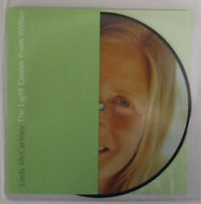 "Linda McCartney, Light Comes From Within, NEW/MINT PICTURE DISC 7"" vinyl single"