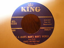 James Brown/Famous Flames 45 It's A Man's Man's Man's World KING