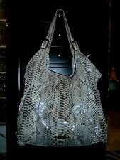 Designer B. Makowsky Leather Hobo Tote Shoulder Bag Handbag Purse L + Wallet