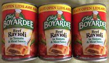 Chef Boyardee Beef Ravioli 15 oz  ( 3 Cans )