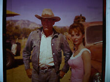 """HENRY FONDA & SUE ANN LANGDON, orig 2 1/4"""" Color Transparency from THE ROUNDERS"""