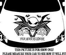 NIGHTMARE BEFORE CHRISTMAS JACK SKELLINGTON CAR GRAPHIC DECAL VINYLHOOD OR SIDE