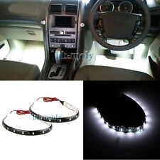 2Pcs White LED SMD Interior Strip Footwell Light For Mitsubishi Pajero NS NT NW