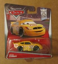 Disney Pixar Cars 2 BRUSH CURBER ~ Fiber Fuel #56 ~ Piston Cup