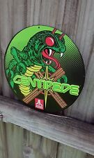 Atari Centipede Metal Sign Raised Letters 10 By 10 Inches Man Cave Video Games