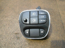 Jaguar XJ X350 Drivers Dashboard Switch Pack. Fog lamps. Fuel filler release.