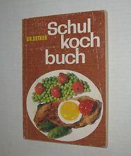 Dr. Oetker Schulkochbuch für den Gasherd von 1969