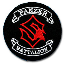 Sabaton Panzer Battalion Patch Iron on Heavy Metal Band Music Rock Badge Punk MC