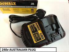 DEWALT DCB105 18v BATTERY CHARGER XR AUSTRALIAN MODEL