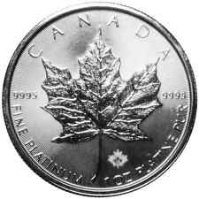 2016 $50 Platinum Canadian Maple Leaf .9995 1 oz Brilliant Uncirculated