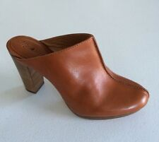 Jcrew Madewell And is High Heel Clog Size 6.5 Brown Women's Heels C5354 NEW $178
