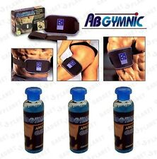 3 x100ml ORIGINAL ABGYMNIC CONDUCTIVE GEL AB BELT