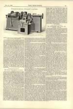 1892 Lang Johnston 30 Inch Pulley Ladies Pollet Swing Bridge Dieppe